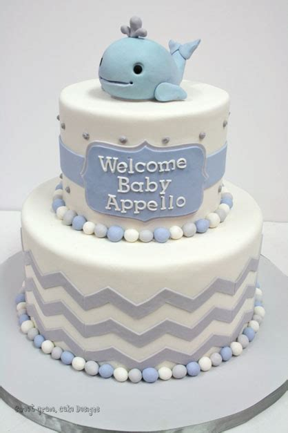 Baby Shower Cakes Nj by Baby Shower Cakes Nj Whale Custom Cakes
