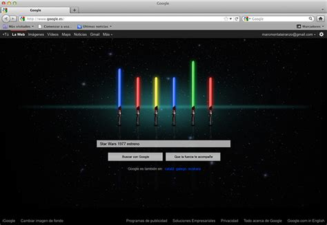themes google star wars doodle star wars on behance