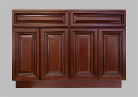 Kitchen Cabinets Doors And Drawers Lesscare Gt Kitchen Gt Cabinetry Gt Cherryville Gt Lcb48cherryville Base Cabinet 4 Doors And 2 Drawers