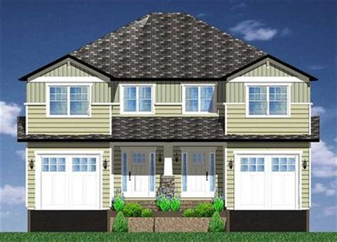 side by side duplex house plans side by side craftsman duplex house plan 67717mg architectural designs house plans