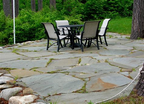 Natural stone patio designs, stone patio designs stamped