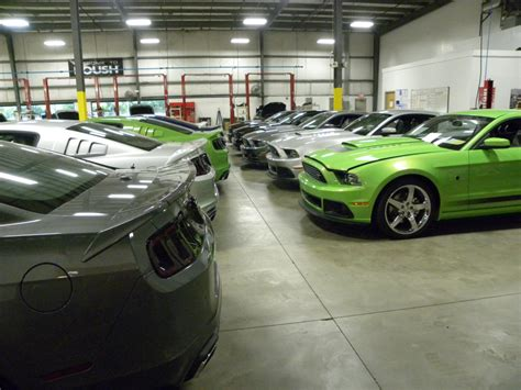 roush speed shop tour canadian mustang owners club
