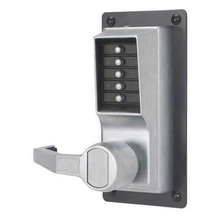 Promoo Push Button Exit simplex push button exit trim satin chrome left