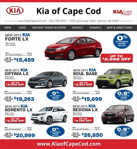 Kia Cape Cod Kia Cape Cod On Boston New Kia Deals Hyannis Ma