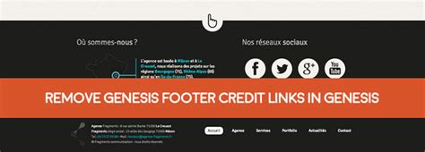 remove elegant themes link in footer customize or remove genesis footer credit links updated