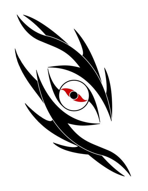 tribal dragon s eye tattoo by woodsman819 on deviantart