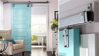 how to hang a sliding door