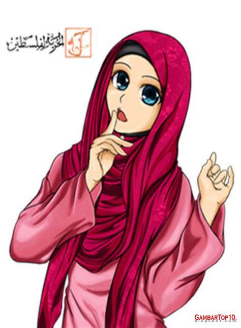 anime hijab gaul 10 gambar kartun muslimah world hd wallpapers