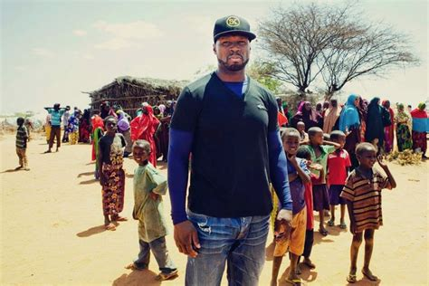 50 cent wants to feed one billion in africa by 2016 net worth