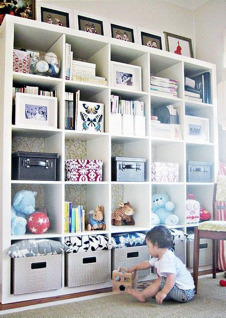 playroom bookshelves best 25 cube storage ideas on playroom