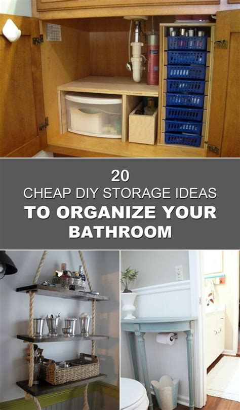 cheap bathroom storage ideas storage ideas storage and diy storage on pinterest