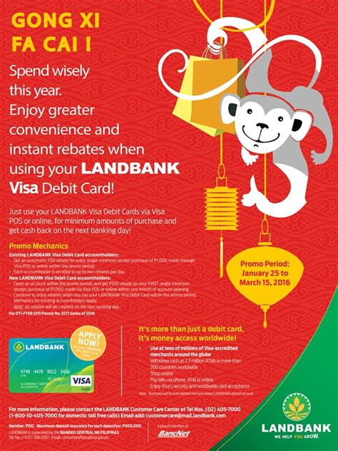 bank of china new year promotion new year promo land bank of the philippines