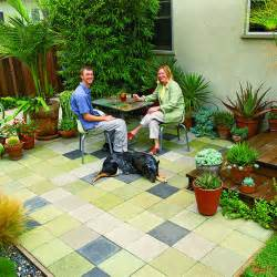 Patio On A Budget Cheap Patio Idea Sunset