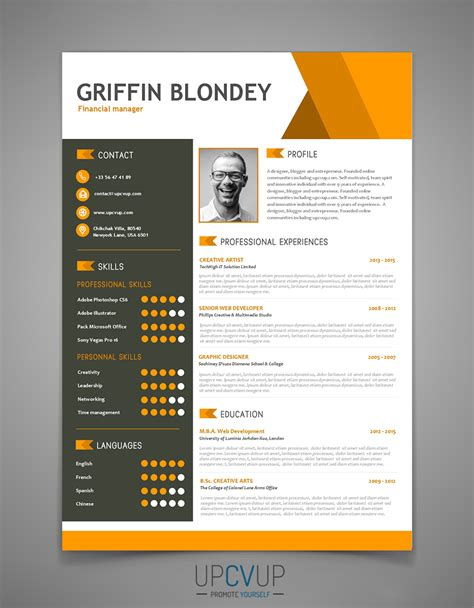 Exemple Word Cv by Modele Cv 2017 Word
