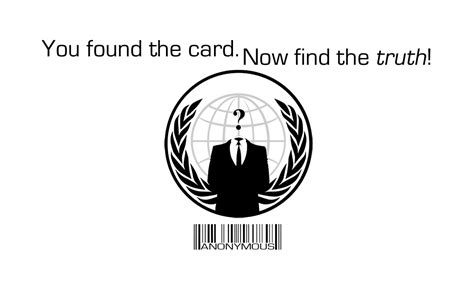 card anonymous business card design why we protest anonymous activism