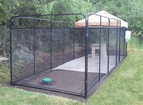 large outdoor pen dogmaster trainers outdoor enclosures outdoor
