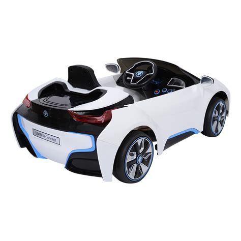 voiture pour 3 si鑒es auto homcom bmw i8 voiture v 233 hicule 201 lectrique pour enfants