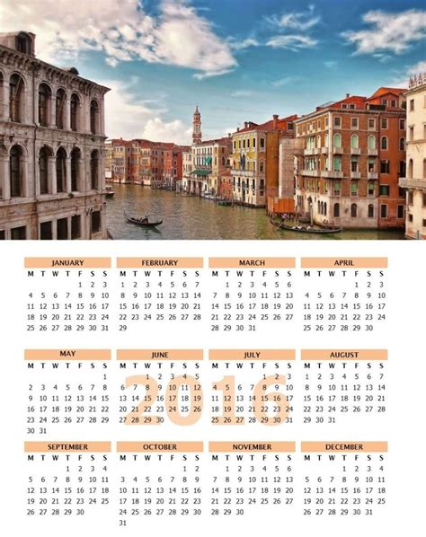 Microsoft Word Templates Calendar 2016