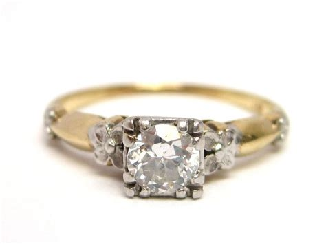 deco antique wedding rings deco platinum 14k gold engagement ring from