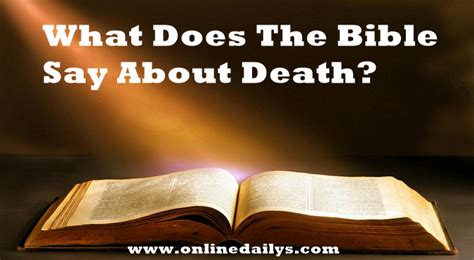 What The Bible Says About Comfort In Death 28 Images