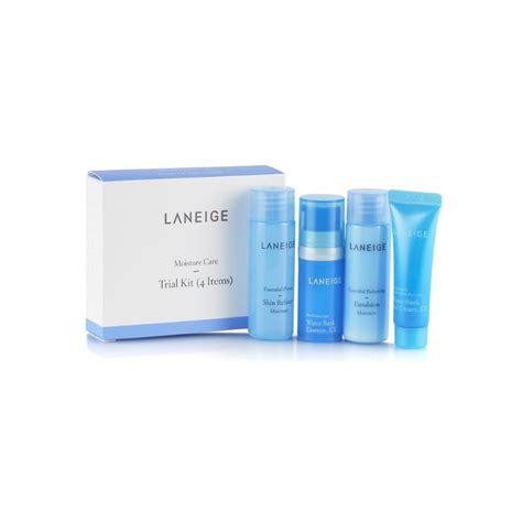 Laneige Kit laneige moisture care trial kit 4 items smoove