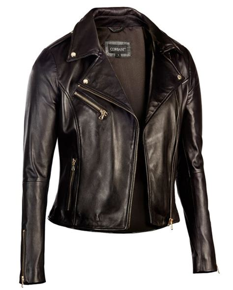 black and gold motorcycle jacket womens black leather biker jacket gold hardware genuine