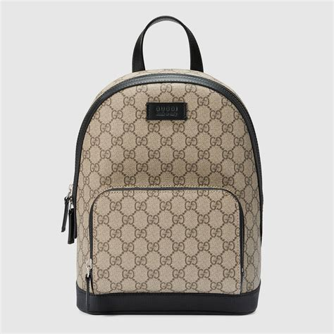 Backpack Gucci by Gg Supreme Small Backpack Gucci S Luggage