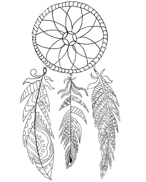 dreamcatcher printable coloring pages free printable dream catcher coloring page coloring