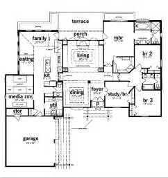 5 bedroom house plans ranch style arts floor plans for ranch homes with 5 bedrooms trend home