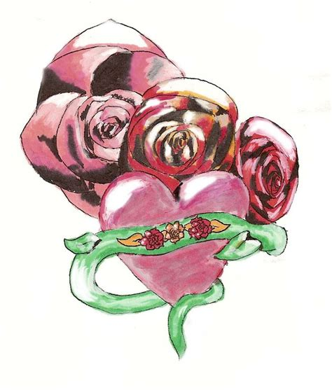 tattoos of hearts and roses black bht aftercare 005 redtubetattoos