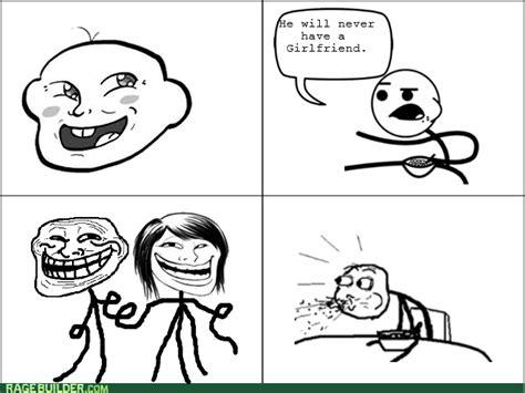 Trollface Meme Generator - trollface will never have a girlfriend he will never have a girlfriend know your meme
