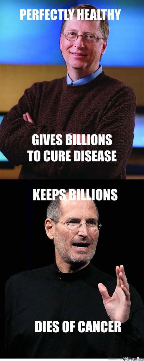 Steve Jobs Bill Gates Meme - bill gates vs steve jobs by mustapan meme center