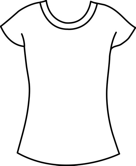 Drawing T Shirt Outline by T Shirt Drawing Outline At Getdrawings Free For