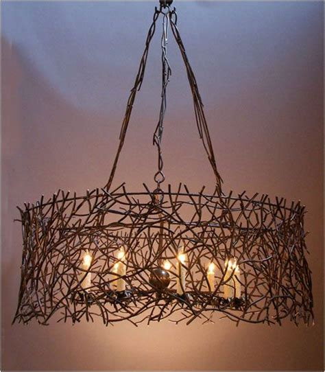 metalwork branches hanging light i wonder if real