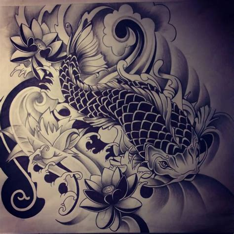 japanese koi fish tattoo koi fish tattoos koi fish designs models picture
