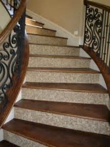 Tile Stairs Ideas by 17 Best Ideas About Hardwood Stairs On Pinterest Redo