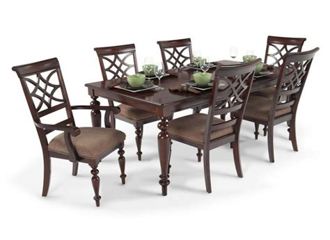 dining room sets bobs furniture woodmark 7 dining set dining room sets dining