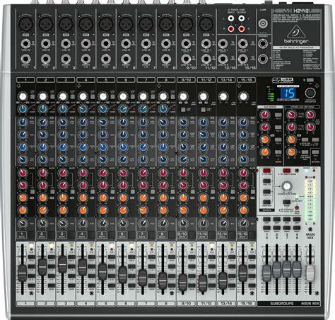 Mixer Behringer Xenyx 2442 Usb behringer xenyx x2442usb usb audio mixer behringer xenyx