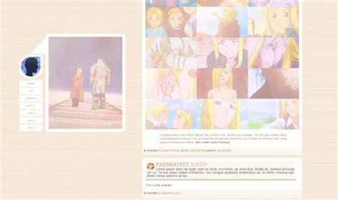 tumblr themes free codes anime hunt down that theme