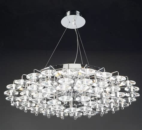 Large Contemporary Chandelier Diamente Collection 18 Light Large Contemporary Chandelier Grand Light