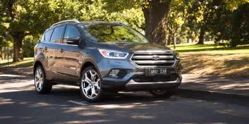 Ford Titanium 2017 Ford Escape Titanium Tdci Review Caradvice