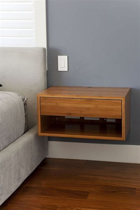 headboard with floating side tables best 25 floating nightstand ideas on pinterest floating