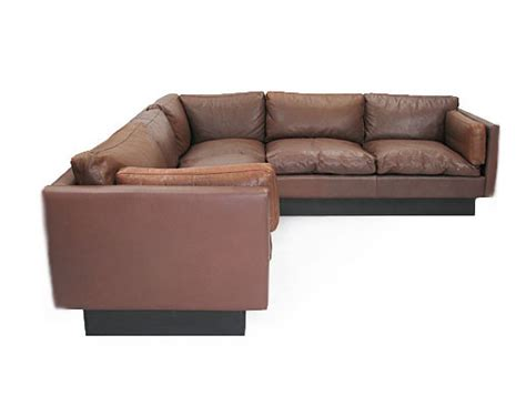 goose sofa leather goose corner sofa orange and brown
