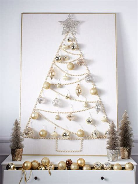 alternatief voor behang leuke alternatieven voor de kerstboom interieur inrichting