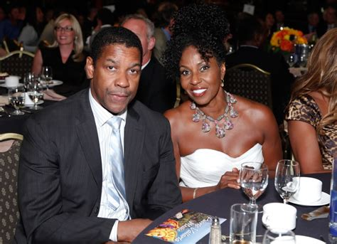 denzel washington and family pauletta pearson washington is denzel washington s wife