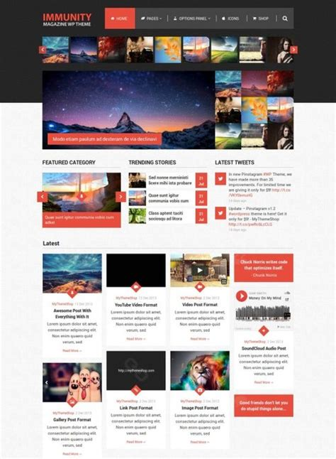 best word press templates best magazine themes with woocommerce mythemes4wp