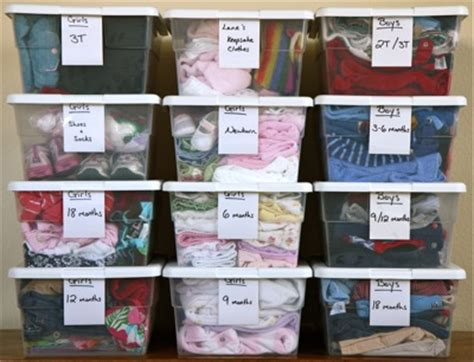 How To Organize Your Clothes In A Small Closet by Organizing Your Children S Clothes Storage Small Notebook