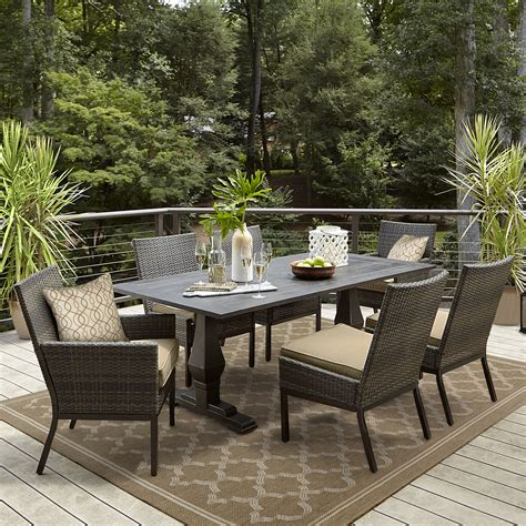 Grand Resort Patio Furniture Grand Resort Monterey Outdoor Dining Table Limited Availability