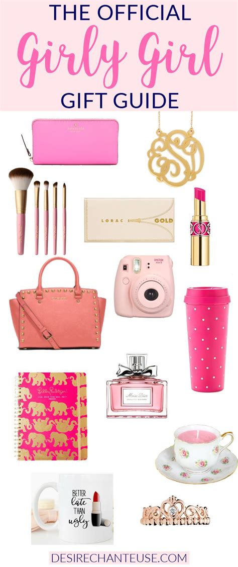 official girly girl gift guide girl gifts girly girls