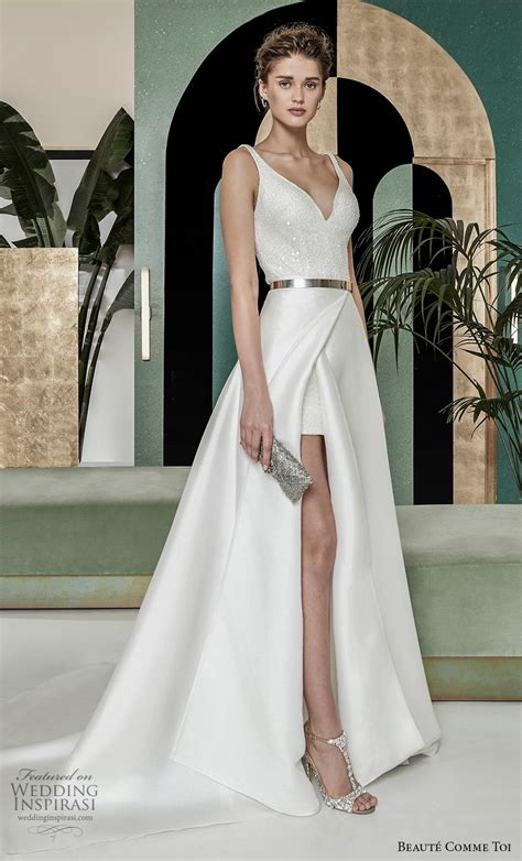 breathtaking modern vintage wedding dresses